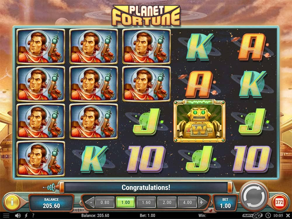 Planet Fortune Slot - High Paying Symbols