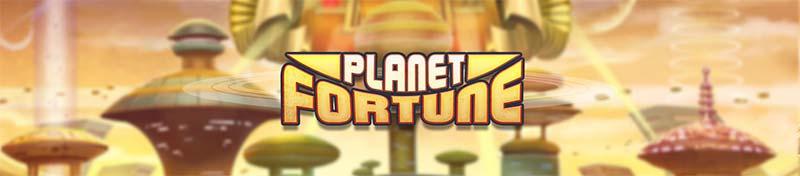 Planet Fortune Slot Header