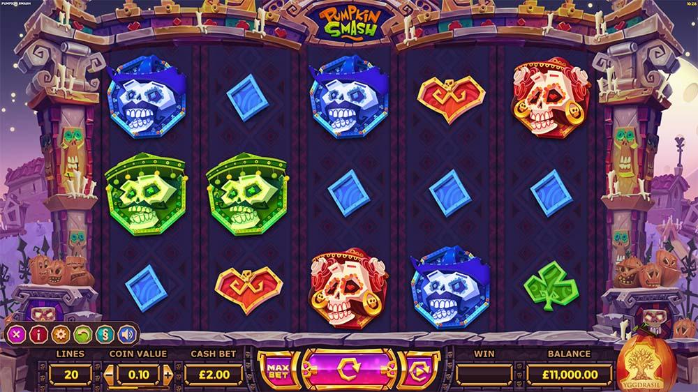 Pumpkin Smash Slot - Base Game