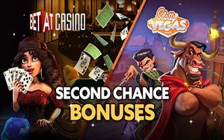 Second Chance Casino Bonuses