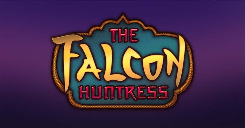 The Falcon Huntress Slot Logo