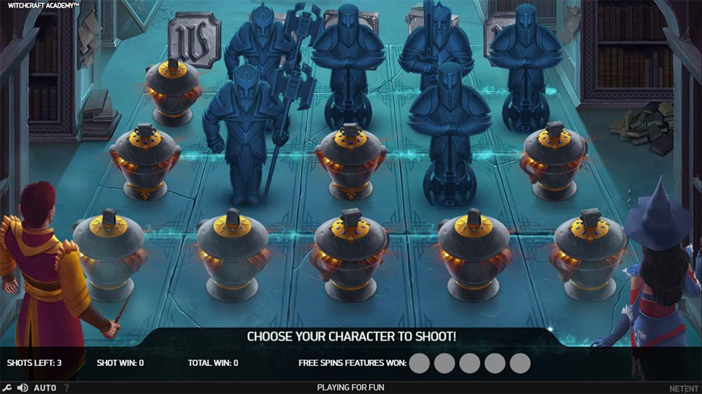 Witchcraft Academy Slot - Bonus Game