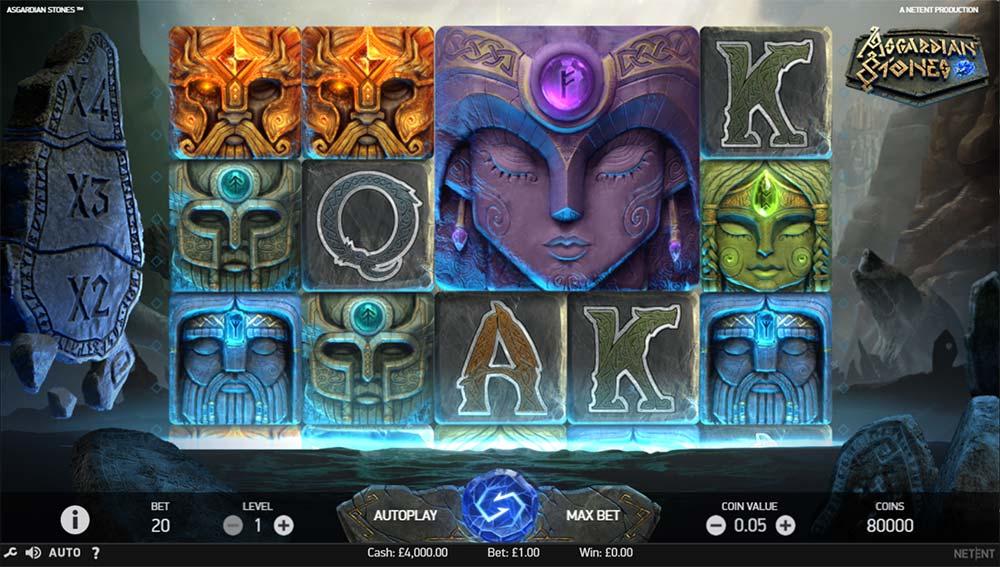 Asgardian Stones Slot - Base Game