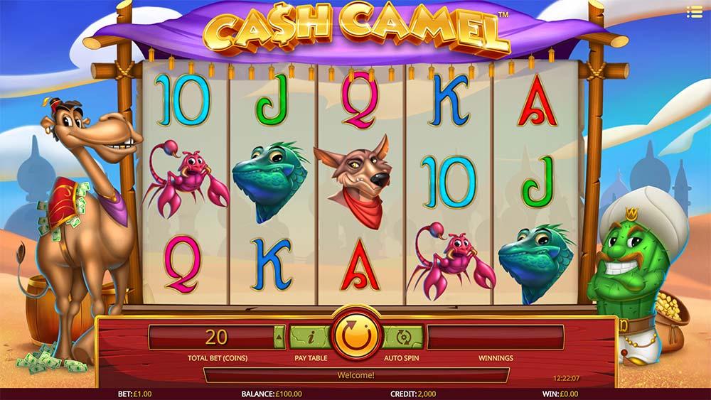 Cash Camel Slot - Base Game