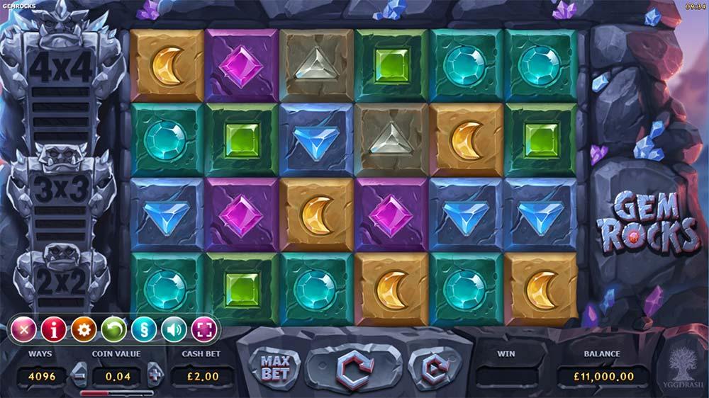 Gem Rocks Slot - Base Game