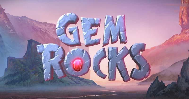 Gem Rocks Slot Logo