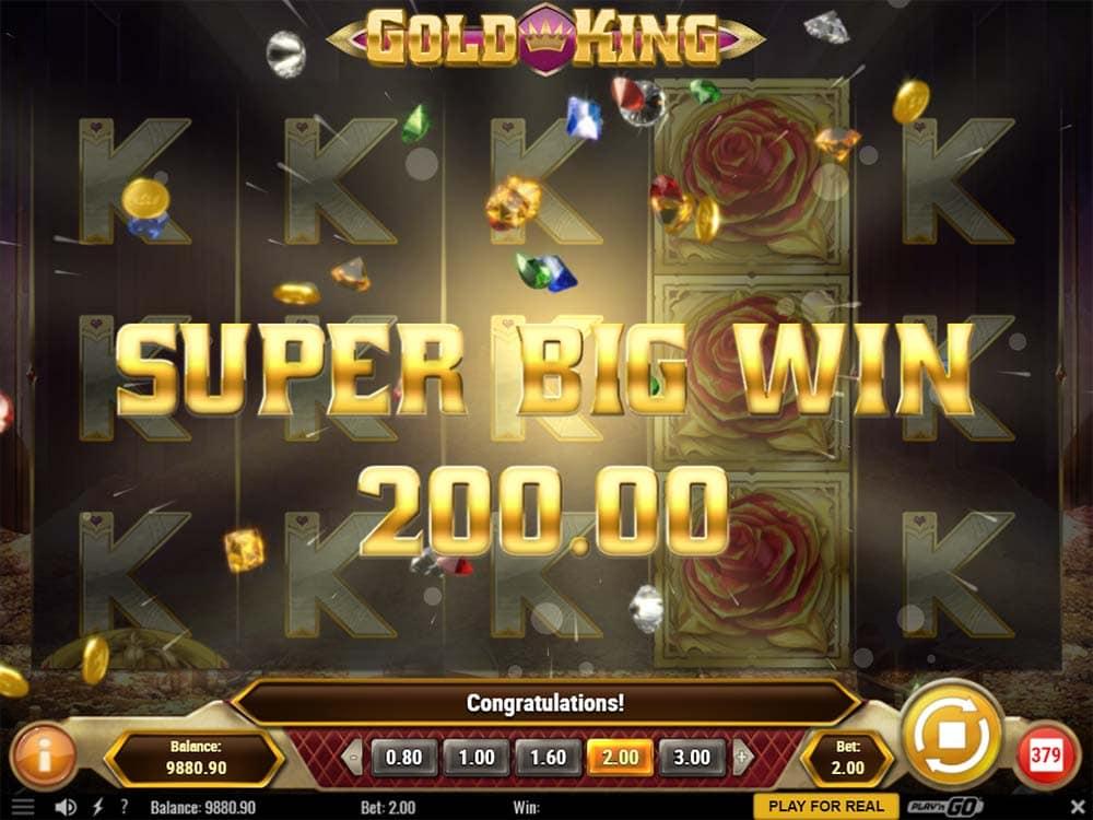 Gold King Slot - Super Big Win