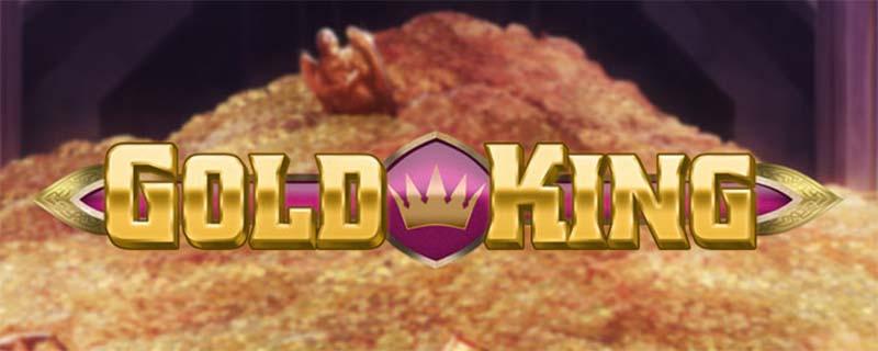 Gold King Slot Logo