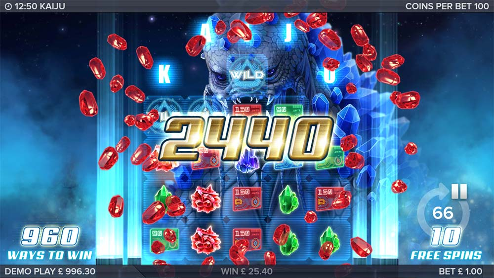 Kaiju Slot - Big Win