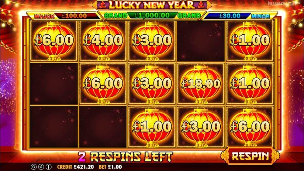 Lucky New Year Slot - Lantern Bonus