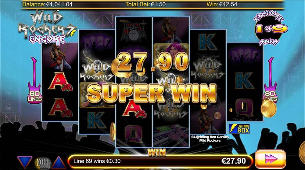 Mild Rockers Slot - Super Win