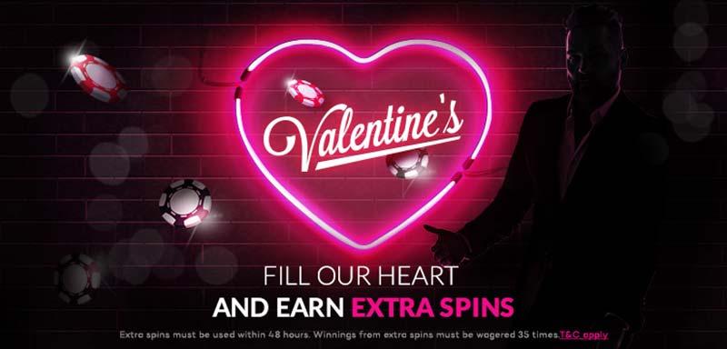 Shadow Bet Casino Valentine's Promotions 2018