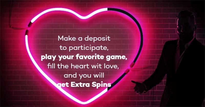 Shadow Bet Casino Valentine's Extra Spins