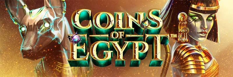 Coins of Egypt Slot Logo