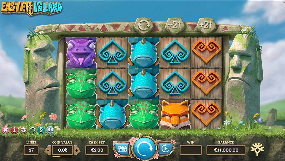 Easter Island Slot - Base Game