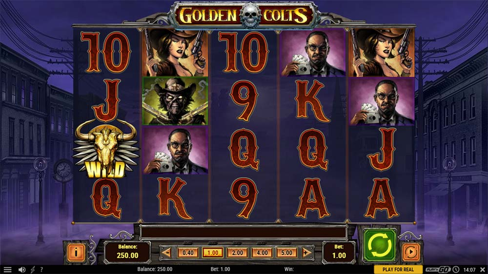 Golden Colts Slot - Base Game