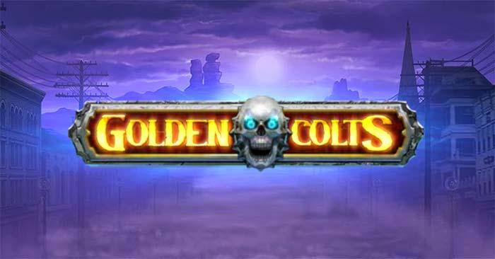 Golden Colts Slot Logo