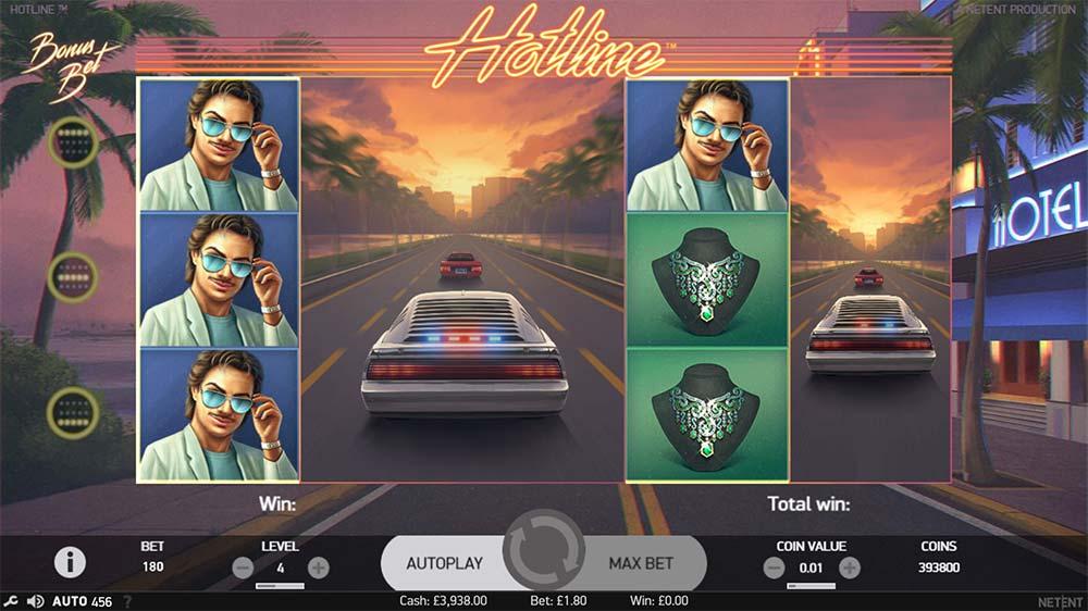 Hotline Slot - Expanded Wild Reels