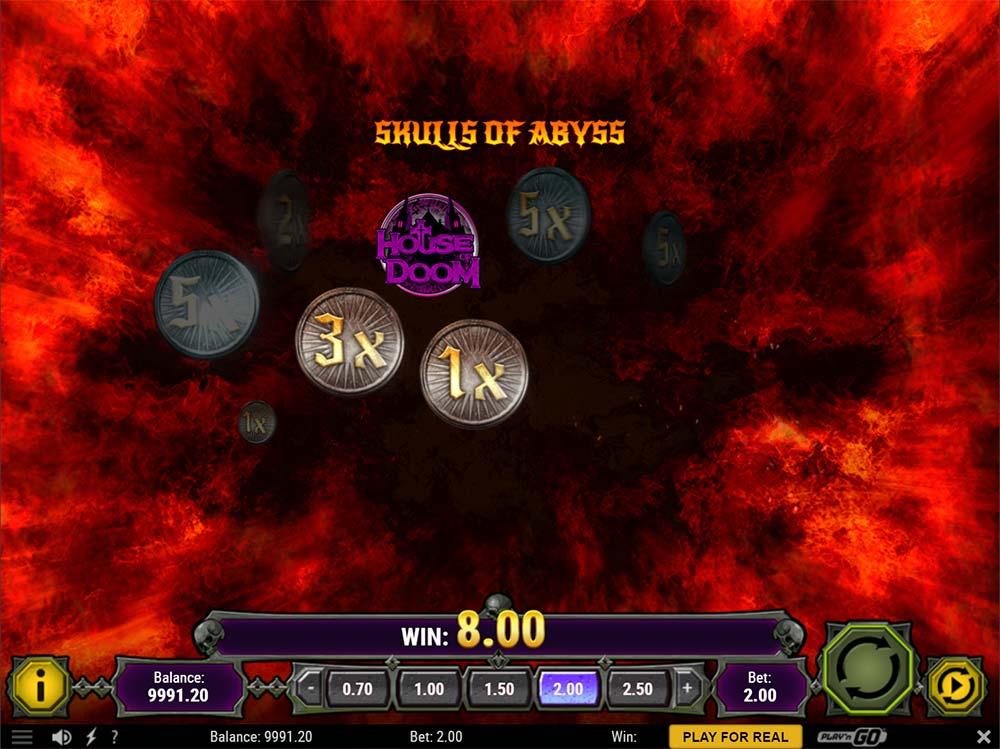 House of Doom Slot - Picking Round