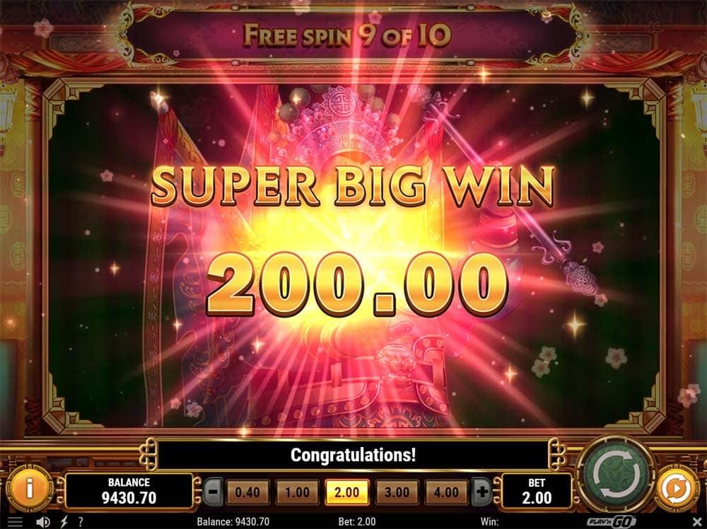 Imperial Opera Slot - Super Big Win