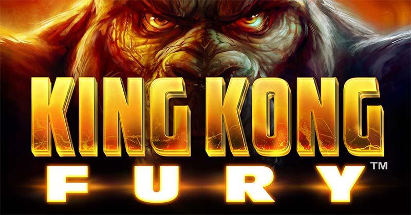 King Kong Fury Slot Logo