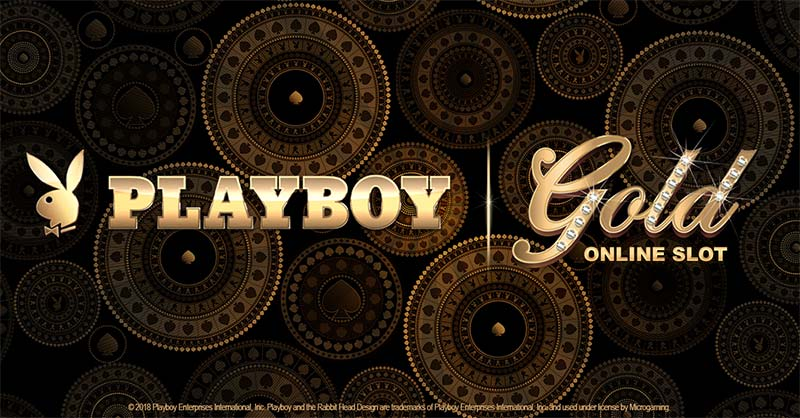Playboy Gold Slot Logo