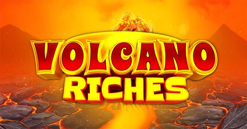 Volcano Riches Slot Logo