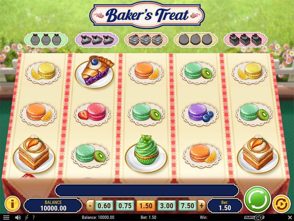Baker's Treat Slot - Base Game