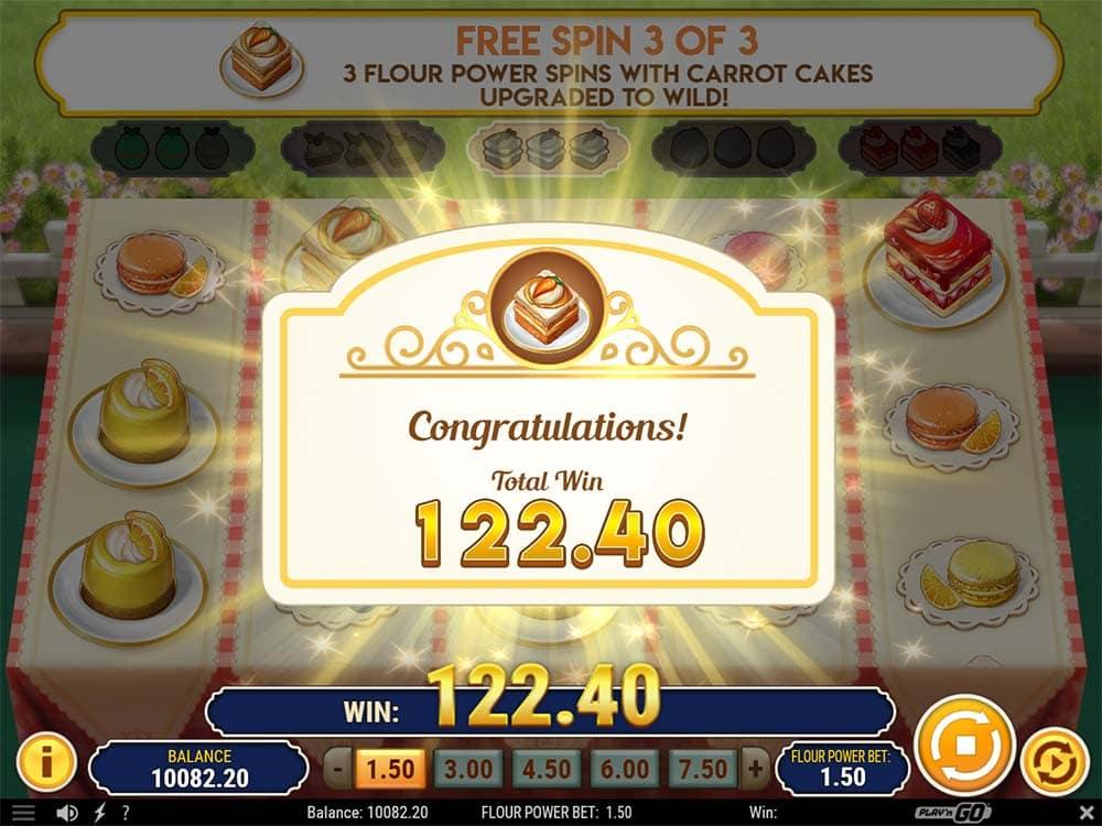 Baker's Treat Slot - Flour Power Win