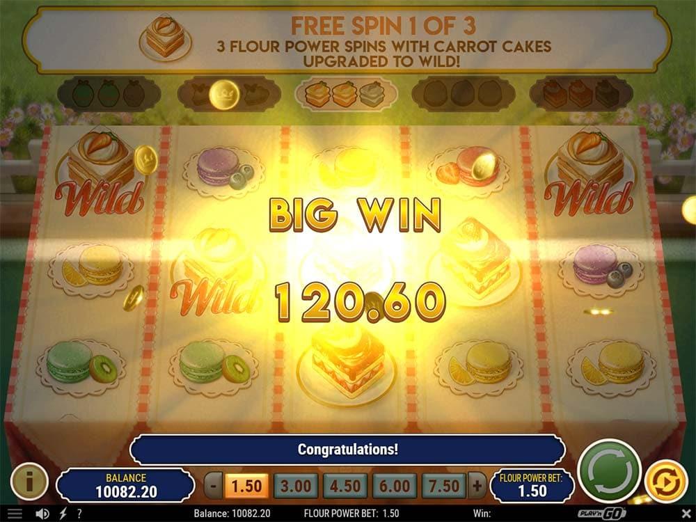 Baker's Treat Slot - Big Win