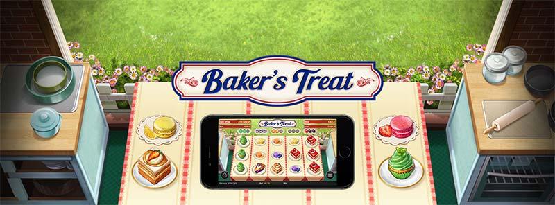 Baker's Treat Slot Logo