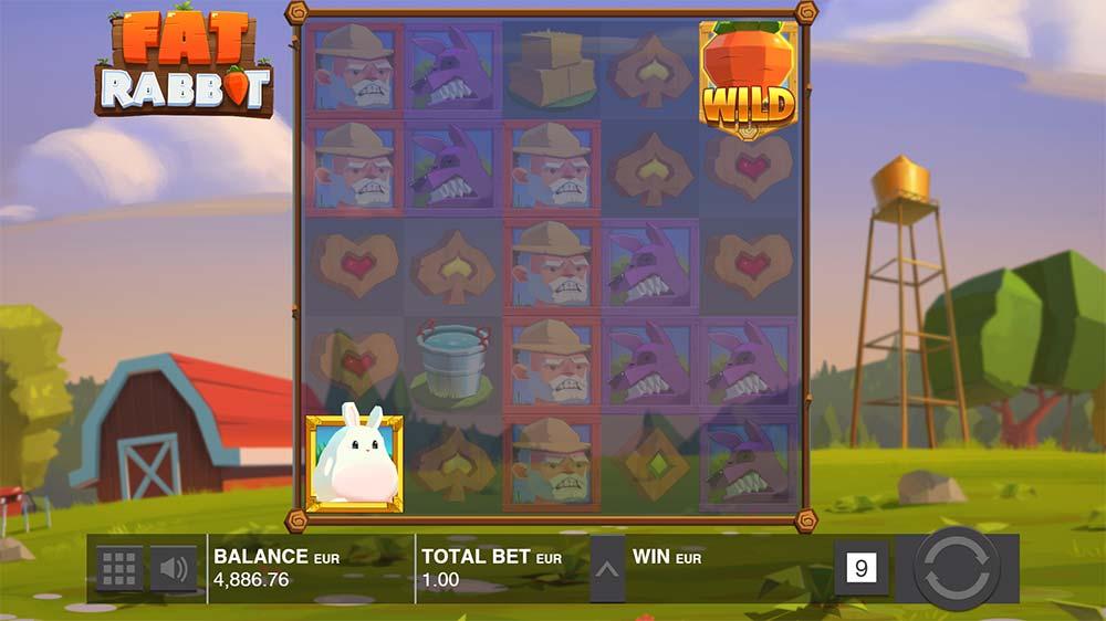 Fat Rabbit Slot - Bonus Trigger
