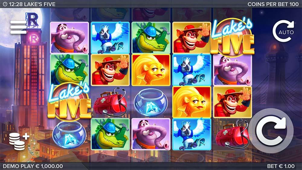 Lake's Five Slot - Base Game