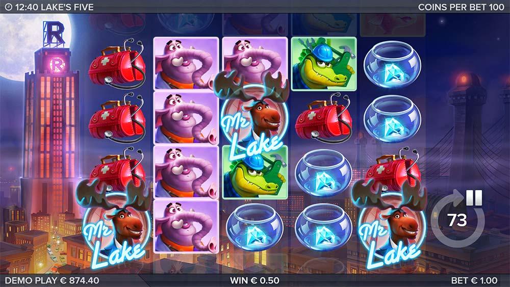 Lake's Five Slot - Bonus Trigger