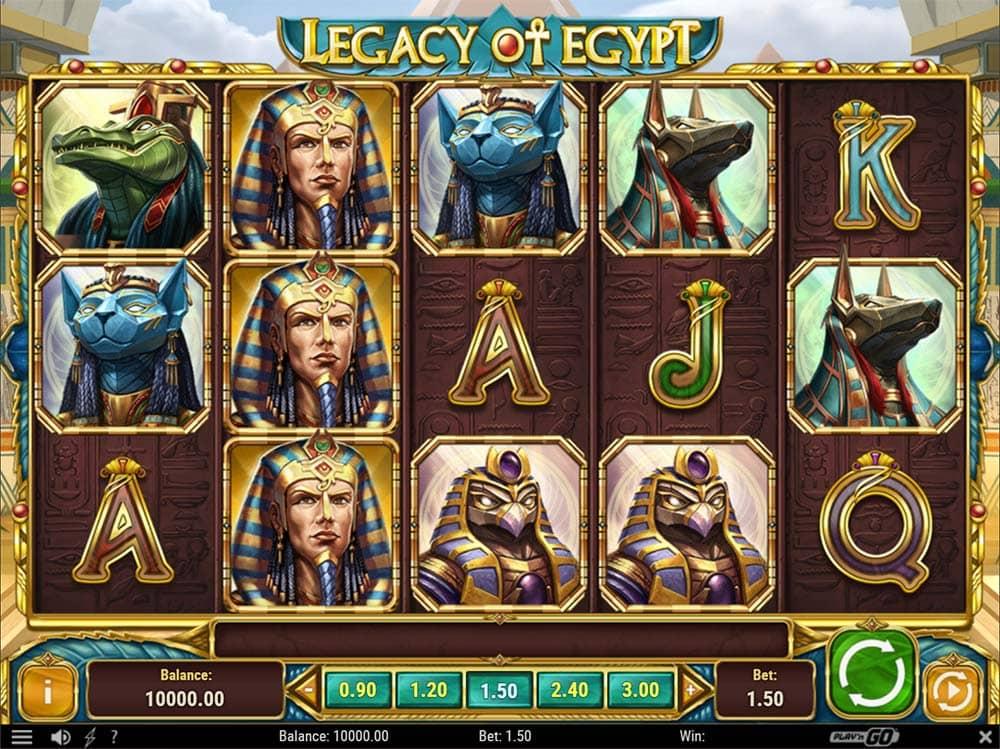 Legacy of Egypt Slot - Base Game