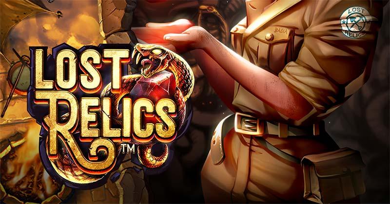 Lost Relics Slot Logo