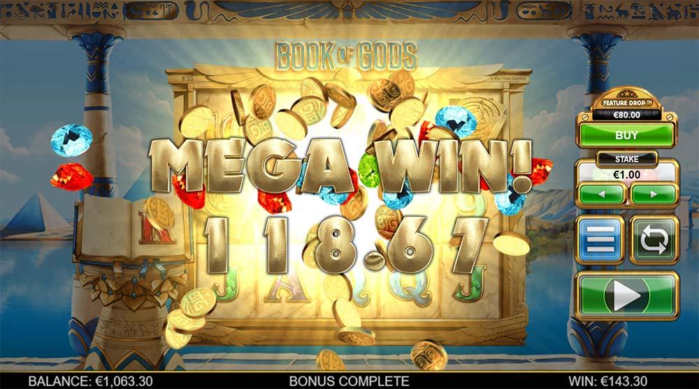 Book of Gods Slot- Mega Win