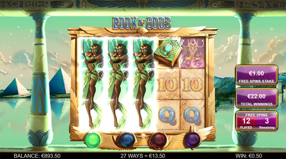Book of Gods Slot- Expanding Symbols
