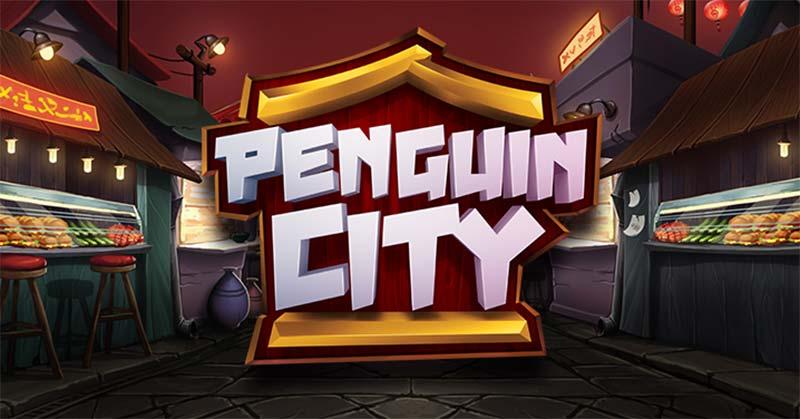 Penguin City Slot Logo