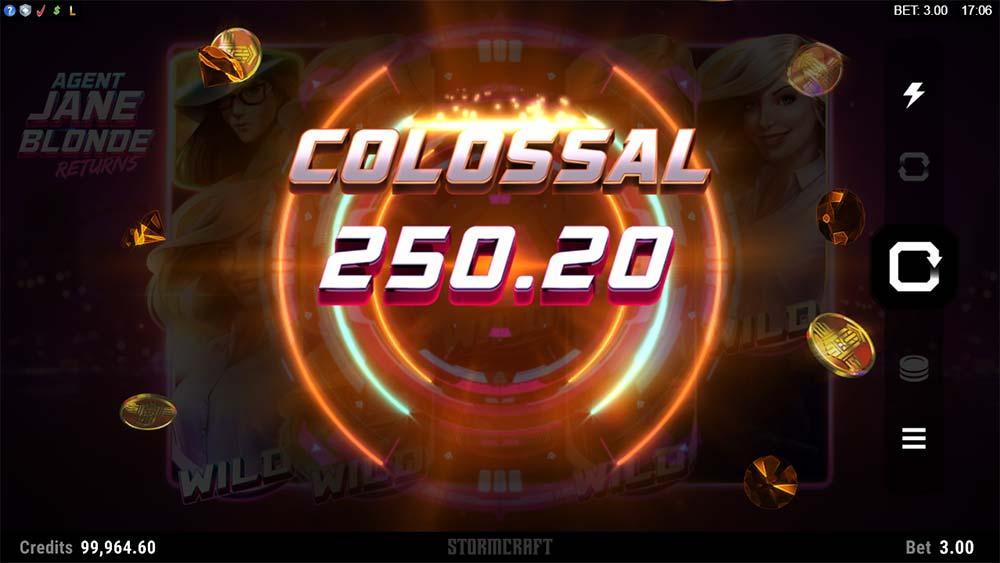 Agent Jane Blonde Returns Slot - Colossal Win