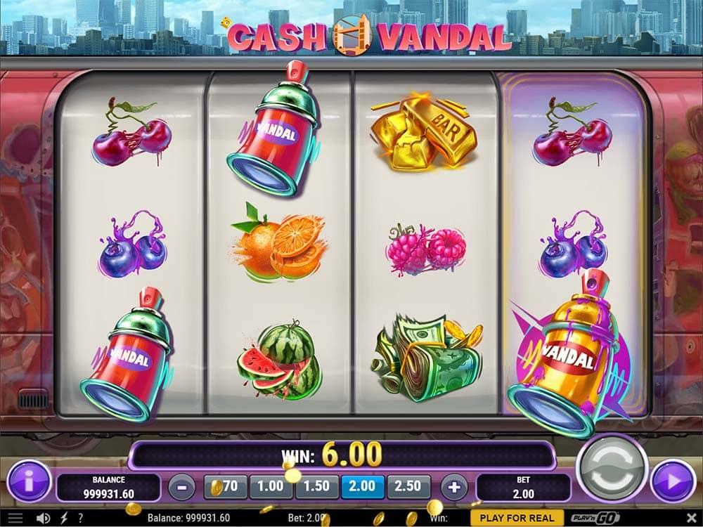 Cash Vandal Slot - Free Spins Trigger