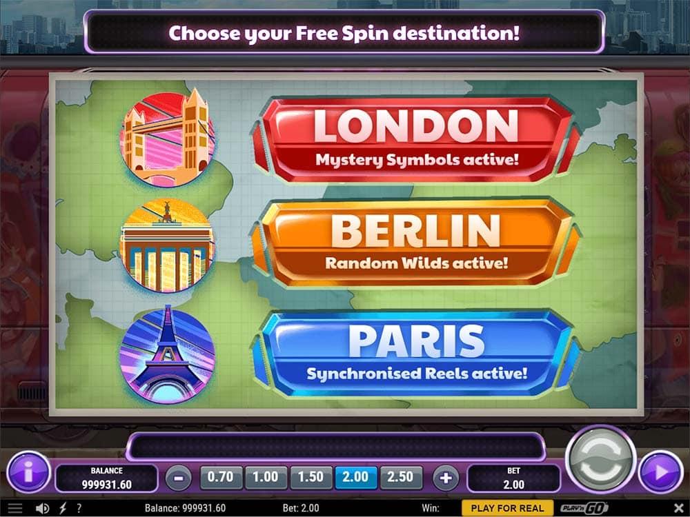 Cash Vandal Slot - Free Spins Options