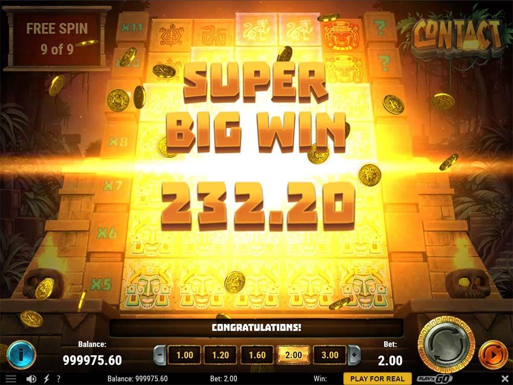 Contact Slot - Super Big Win