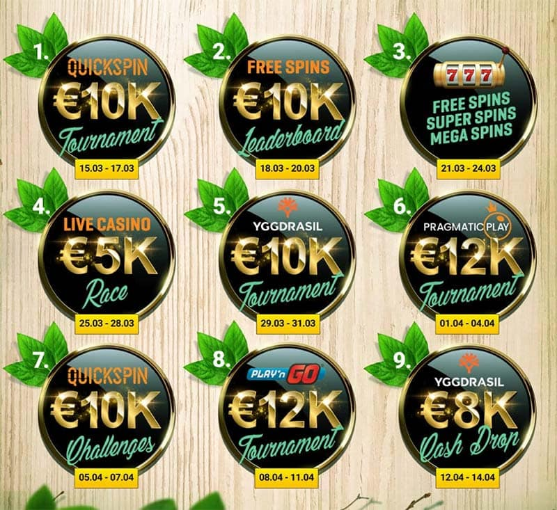 Guts Casino Spring Promotions