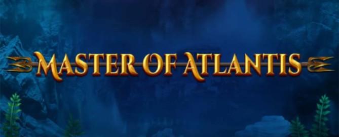 Master of Atlantis Slot Logo
