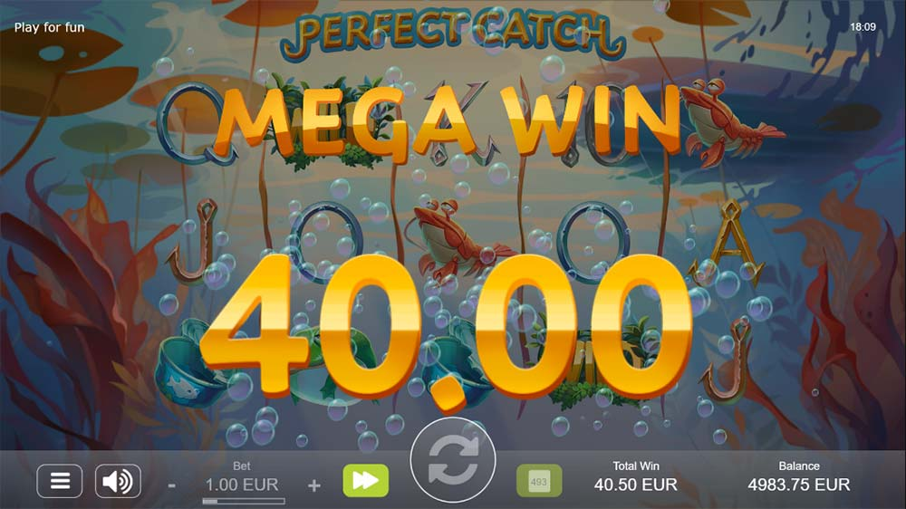 Perfect Catch Slot - Mega Win