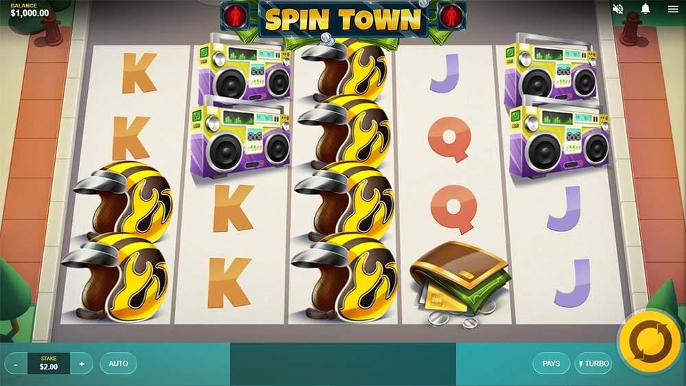 Spin Town Slot - Base Game