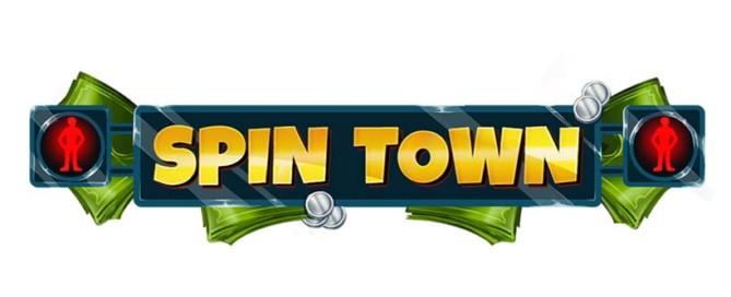 Spin Town Slot Logo