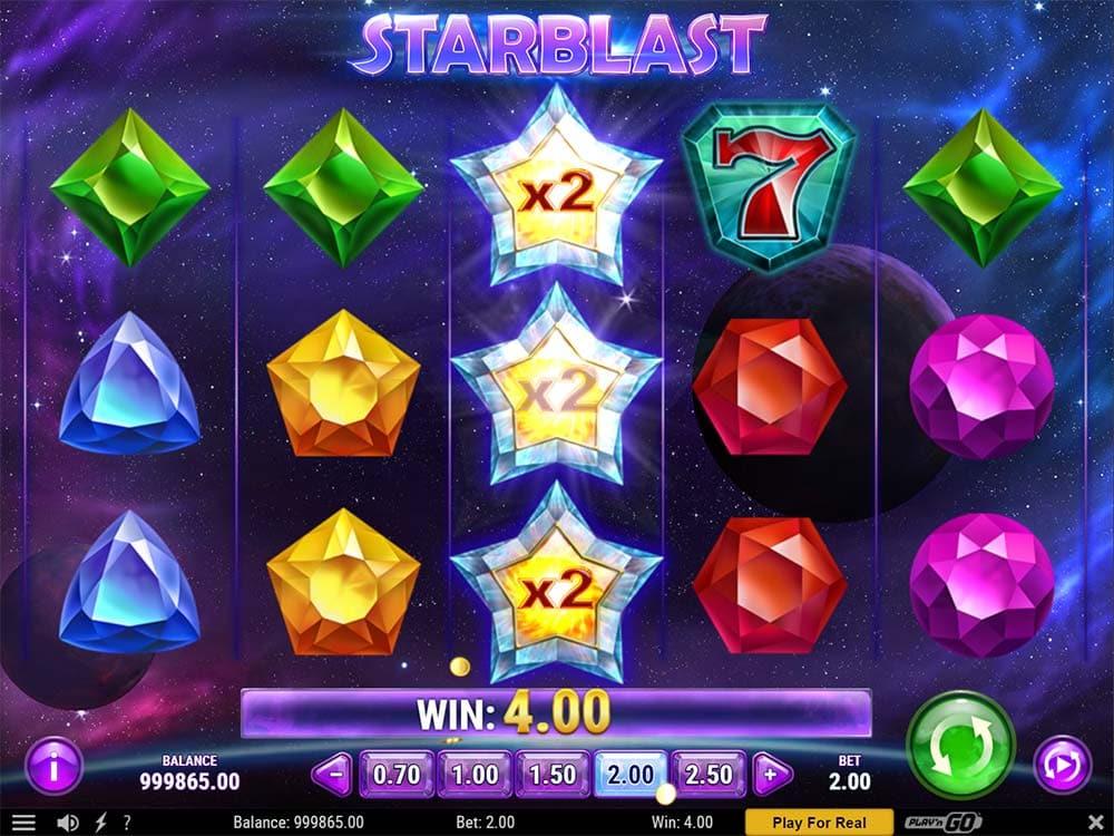 Starblast Slot - Wild Multipliers