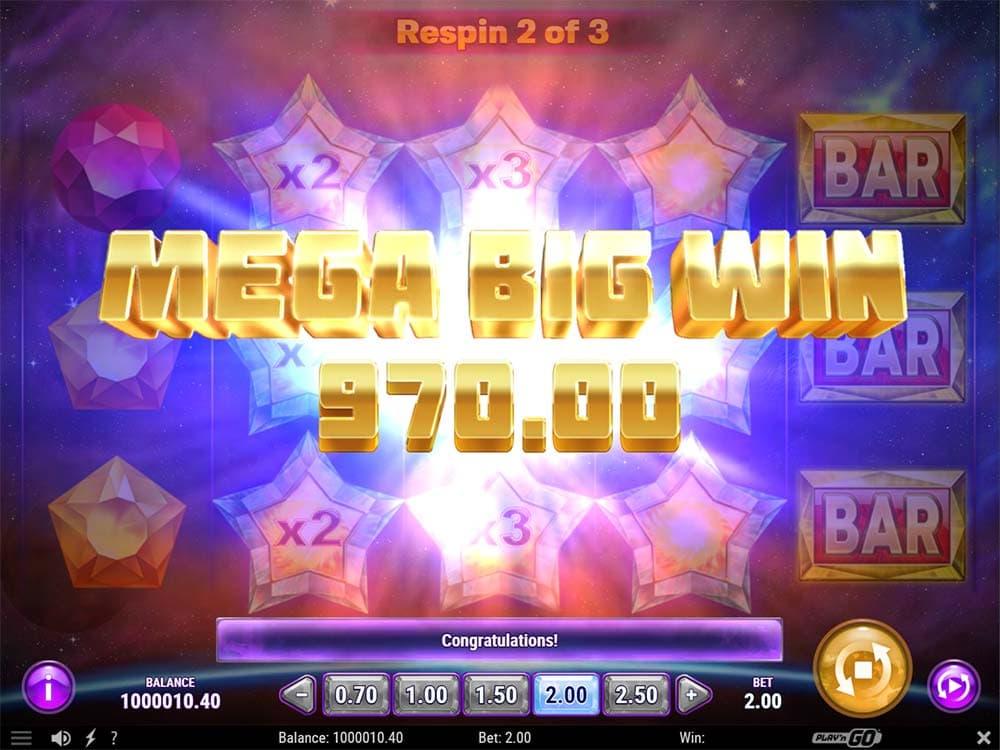 Starblast Slot - Mega Big WIn